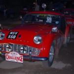TR3 rally